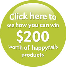 Win $200 of happytails products!