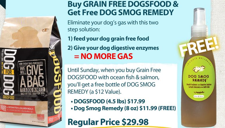 doggy gas offer