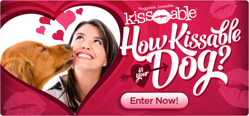How Kissable is Your Dog? Winner Receives a $50 Doggy Home Dental Kit!