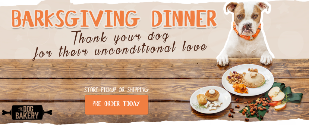 Barksgiving - Thank your dog for their unconditional love